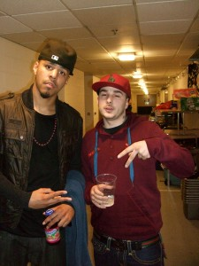 J Cole Brother Zach UK Rapper K-Koke signs...